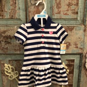 NWT, Carter's- dress with bloomers